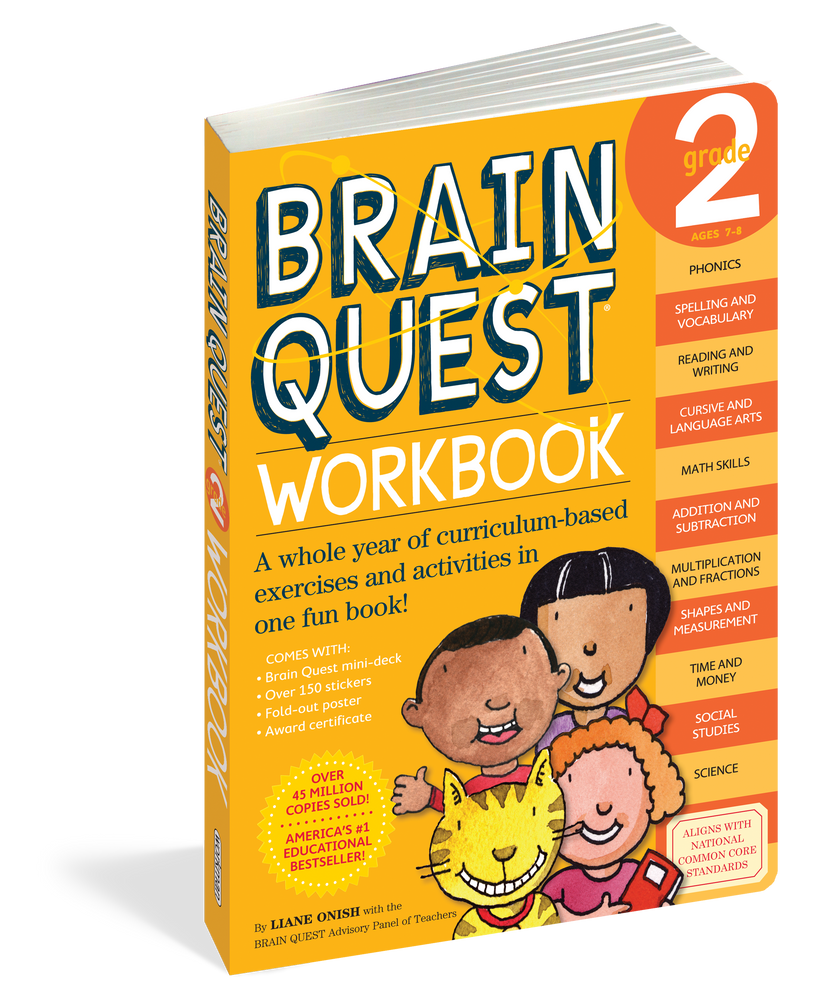 Brain Quest 2 Workbook