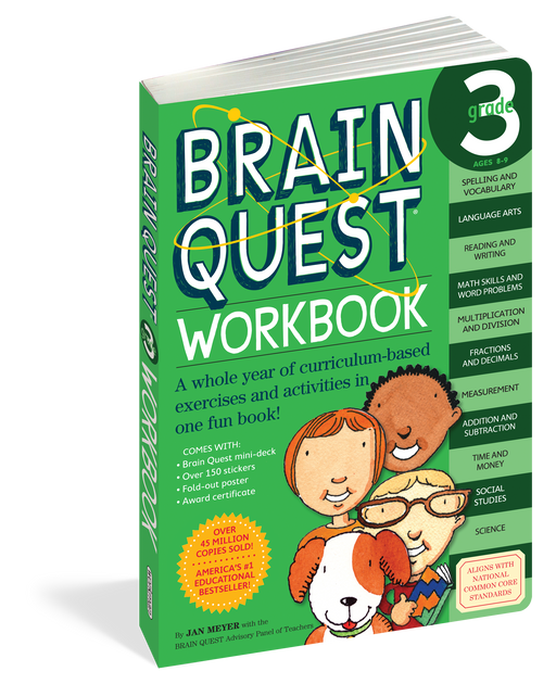 Brain Quest 3 Workbook
