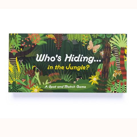 Who's Hiding In The Jungle? Game