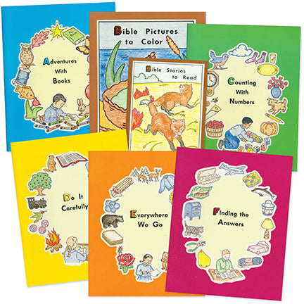 Preschool ABC series Set of 7