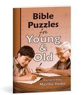 Bible Puzzles-Young and Old
