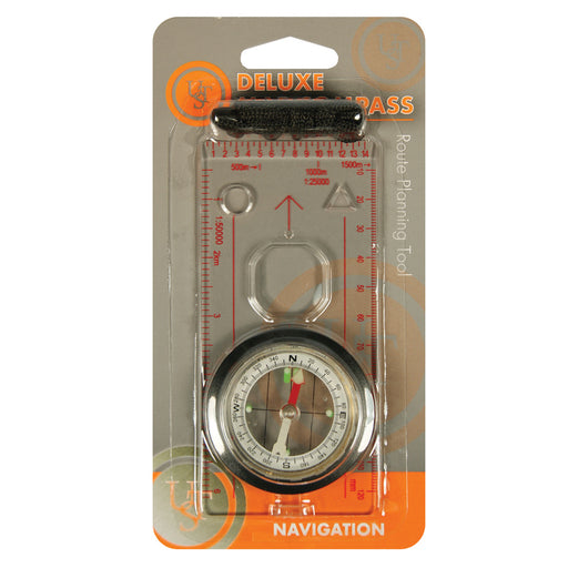 Deluxe Map Compass with Lanyard