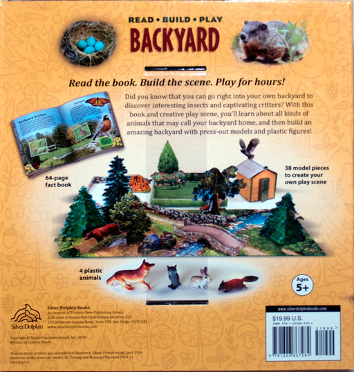 Backyard Read Build Play