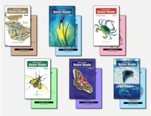 "Set of 6- ""Nature Readers"""
