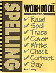 Workbook for Spelling Plus K-6