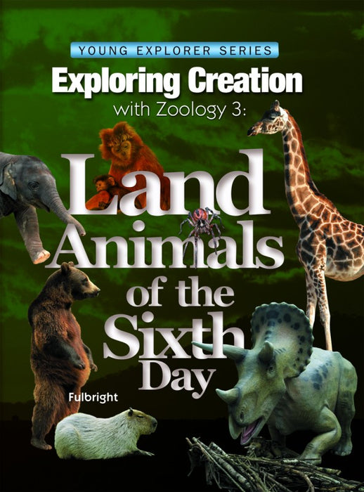 Zoology 3 -Exploring Creation book