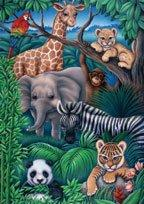 Animal Kingdom - Puzzle