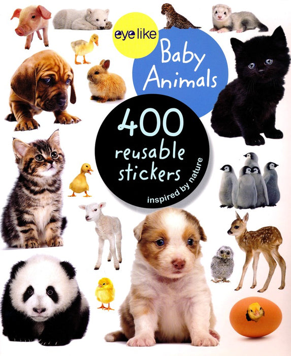 Baby Animals eyelike Stickers