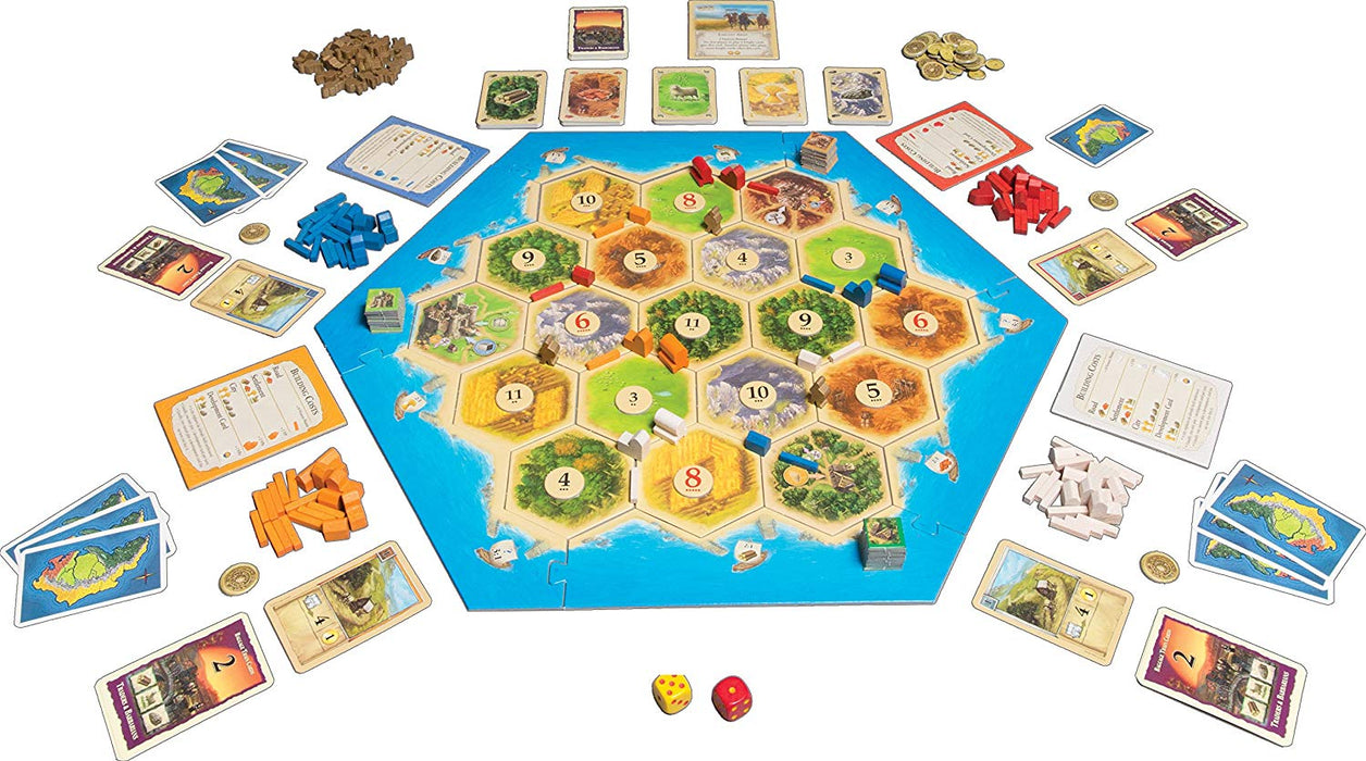 Catan Traders and Barbarians