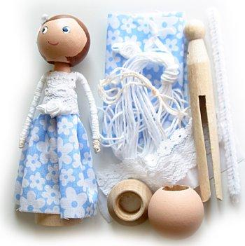 Clothespin Doll Kit