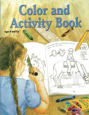 Color and Activity Book