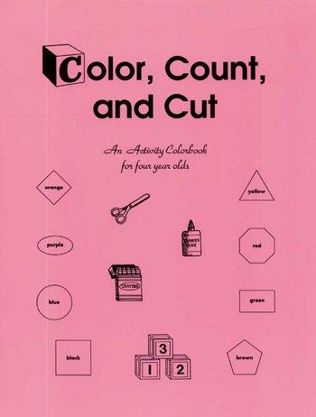 Color Count & Cut-Preschool