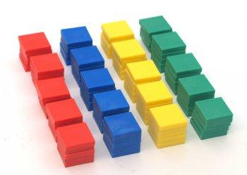 Color tiles - 100pcs