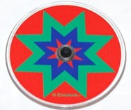Plastic Disk, Color Wheel