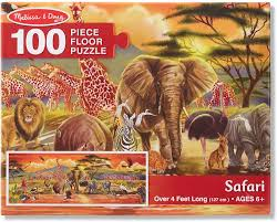 Safari - floor puzzle M&D