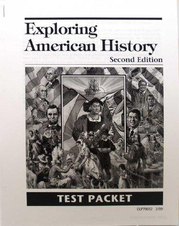 Exploring Am. History-Test