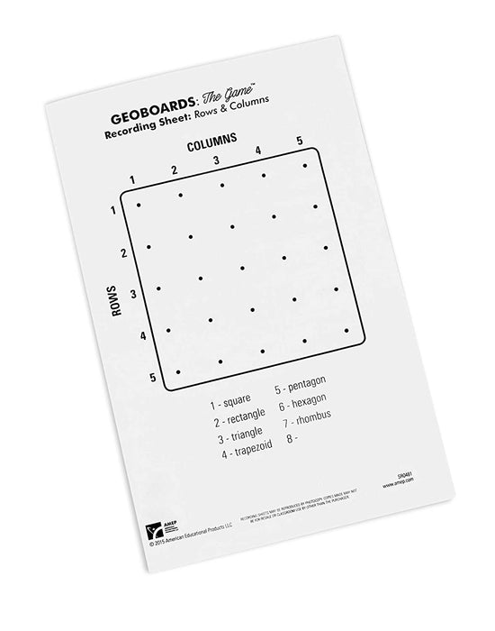 Geoboards The Game