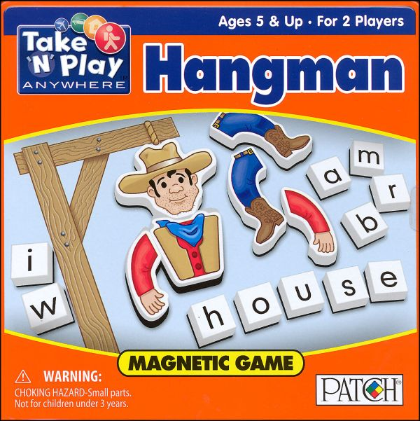 Magnet Game Tin - Hangman