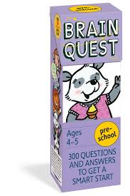 Brain Quest Preschool, revised 4th edition