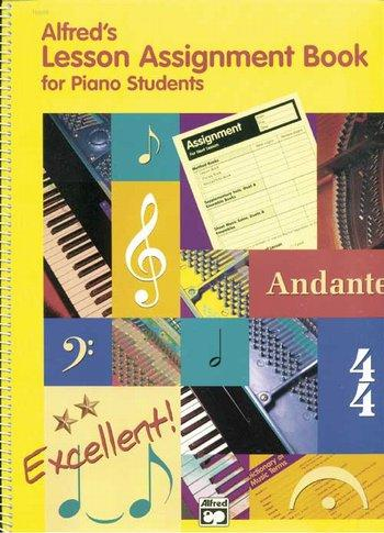 Piano Lesson Assignment Book