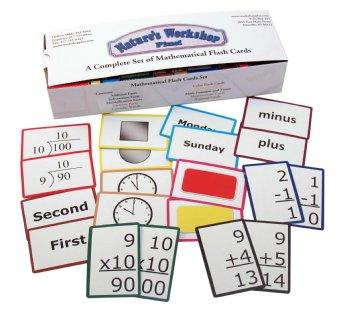 Mathematical Flash Cards Set