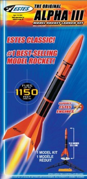 Model Rocket Launch Set
