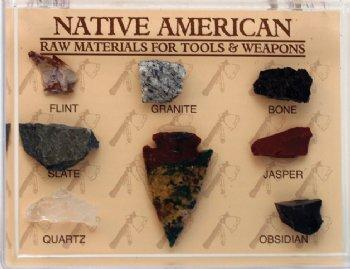 Native American -Raw Materials