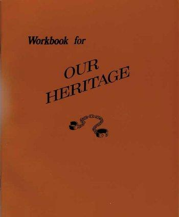 Our Heritage Workbook