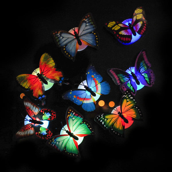 Fiber Optic Butterfly