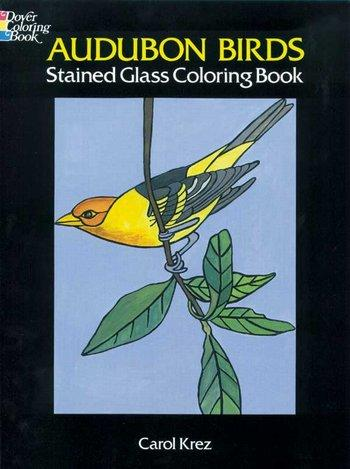 Audubon Birds-stain glass c.b.