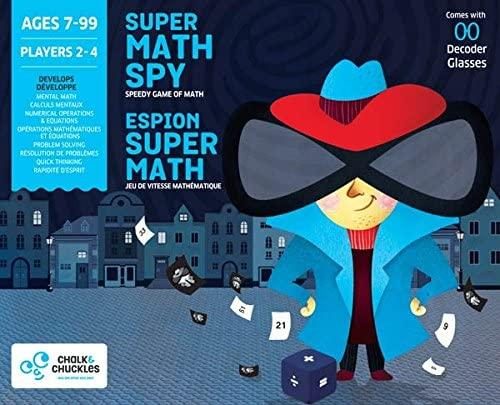 Super Math Spy Game