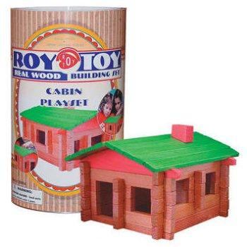 Log Cabin Playset sm- RoyToy #6