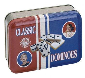Classic Domino Toy Tin