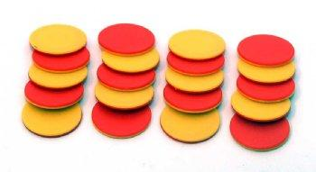 Two-color counters - 25pcs