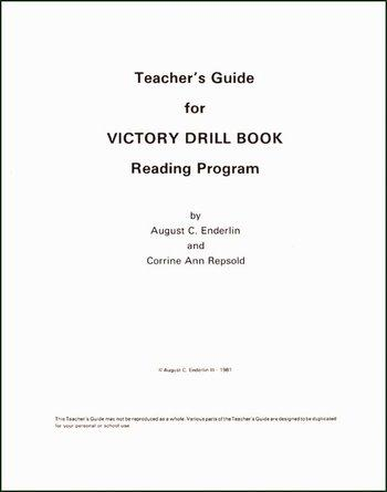 Victory Drill Teacher's Guide