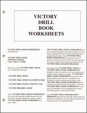 Victory Drill Book Worksheets