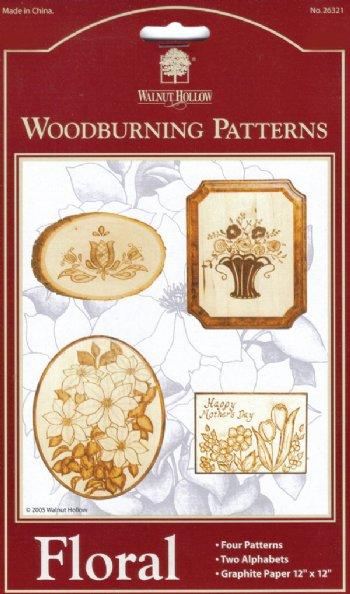 Floral Woodburning Patterns