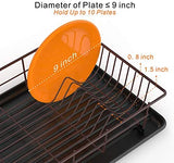 Dish Rack and Drainboard Set - Bronze