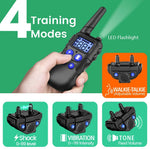 Dog Training Collar with Walkie-Talkie Function for 2 Dogs