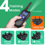 Dog Training Collar with Walkie-Talkie Function for 3 Dogs