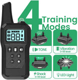 dog training collar 4 modes
