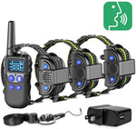 dog training collar with walkie-talkie