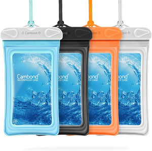 Waterproof Phone Pouch, 4 Pack
