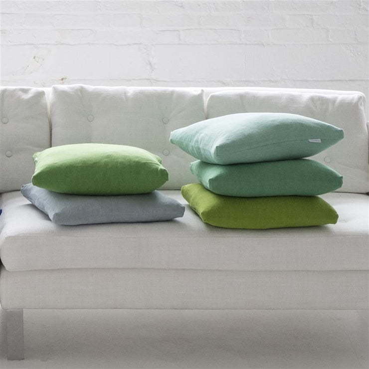 Designers Guild Essentials Brera Lino - Forest