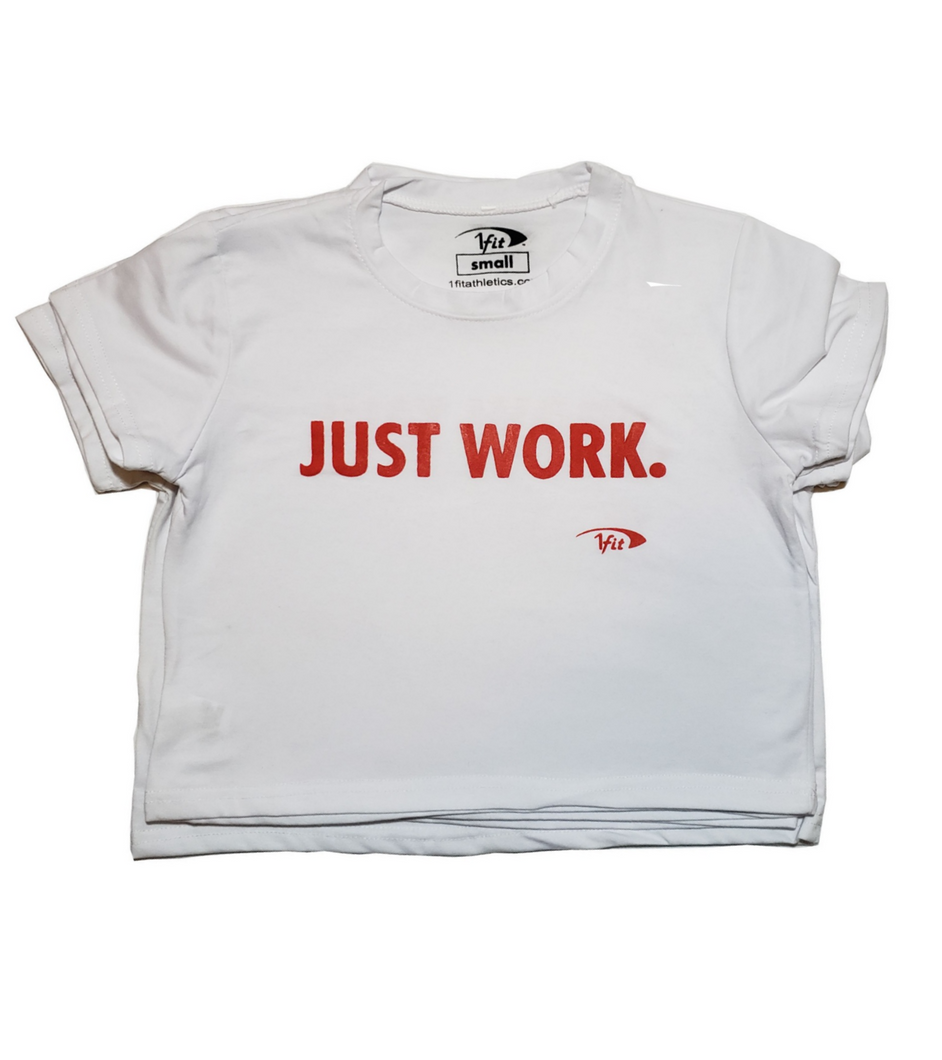 JUST WORK. Crop Top