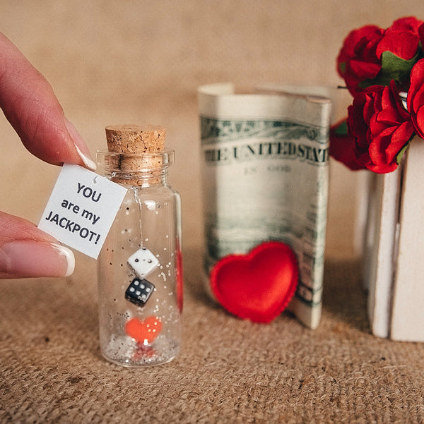 Message in a Bottle Gift  Personalized Long Distance