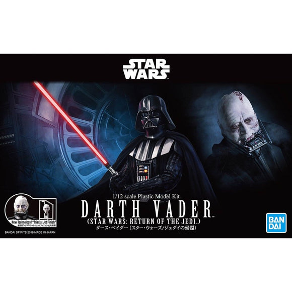 Bandai:  Star Wars - 1/12 Darth Vader (Return of the Jedi)