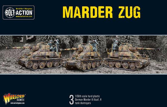 German Marder Tank Destroyer Zug