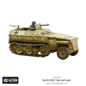 German Sd/Kfz 250/1 - Neu Halftrack