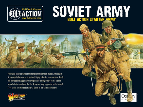 Bolt Action Soviet Starter Army